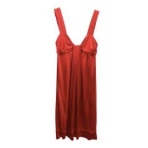 Diane Von Furstenberg Red Dress Size 4 Small